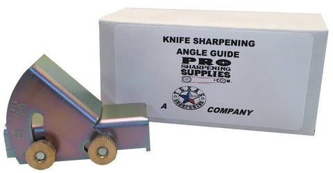 Knife Sharpening Angle Guide - Sharpen EXACT angles on edges from 10 to 45