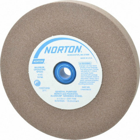 "Norton 5"" Wheel - 100 grit Sharpening Wheel - fits Twice as Sharp Machine"