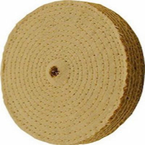 "Enkay 6"" Sisal Buffing Wheel - 1/2"" Bore"