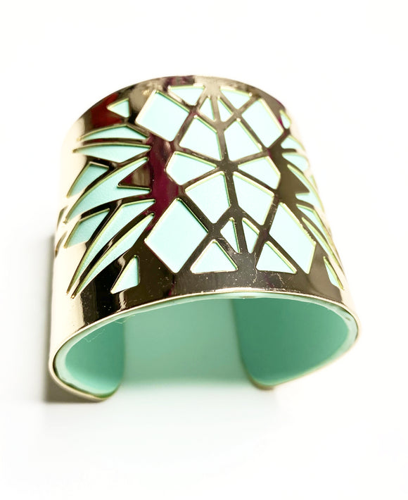Tanya Leather Cuff, Bracelet, Bold Addictions™ - Bold Addictions | Fashion Jewelry & Accessories Boutique