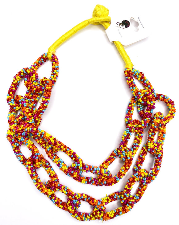 Yvonne Beaded Necklace