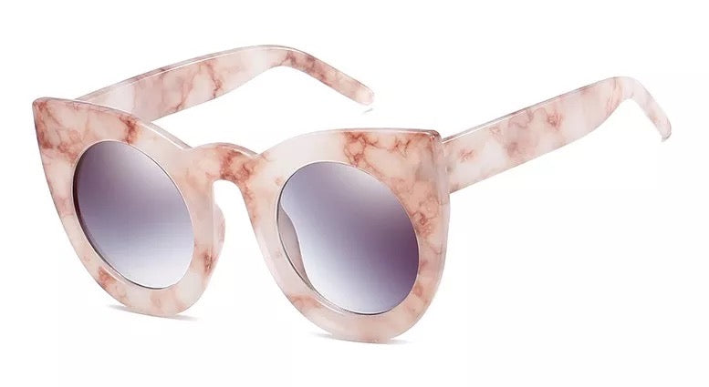 Danette Glasses - Marble