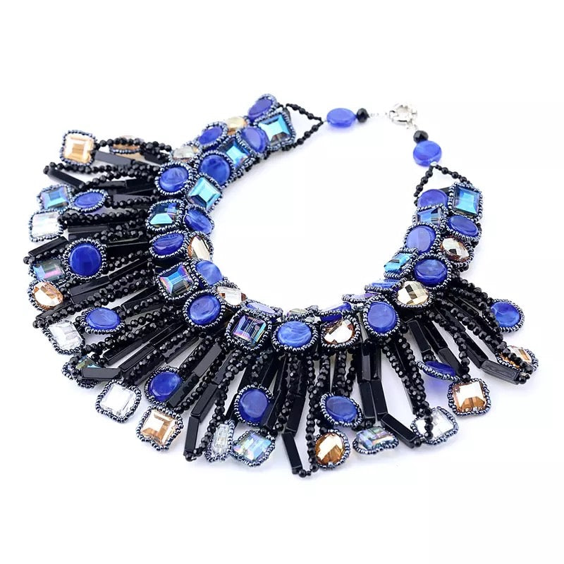Saeedah Beaded Necklace, Necklace, Bold Addictions™ - Bold Addictions | Fashion Jewelry & Accessories Boutique