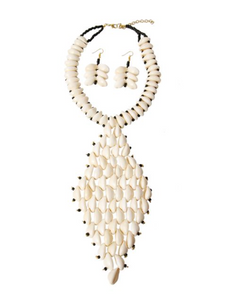 CasSandra Cowrie Shell Necklace