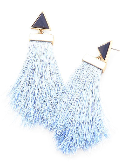 Nur Feather Drops - Blue