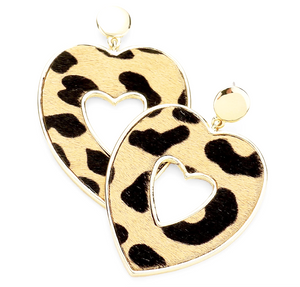 Shamel Heart Drop Earrings