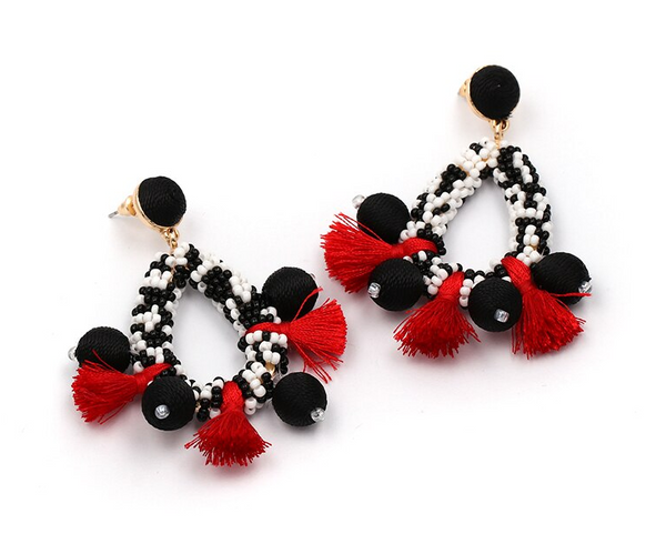 Sylvia Beaded Earrings