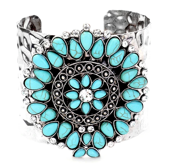 April Cuff, Bracelet, Bold Addictions™ - Bold Addictions | Fashion Jewelry & Accessories Boutique