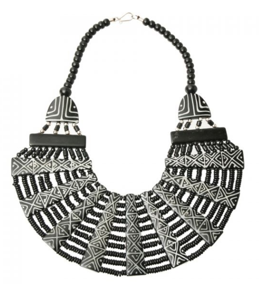 Lisa Bib, Necklace, Bold Addictions™ - Bold Addictions | Fashion Jewelry & Accessories Boutique