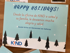 Celebrating Giving Season With KIND
