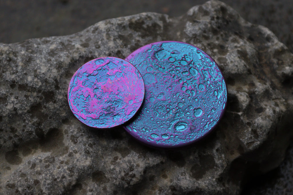 Blurple Moons! Our new two-tone niobium coins