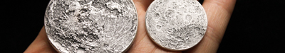 Several silver coins together