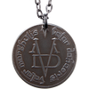 Valar Morghulis Necklace - Faceless Man Coin Pendant