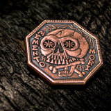 Memento Mori Copper Coin - Shire Post Mint Gifts