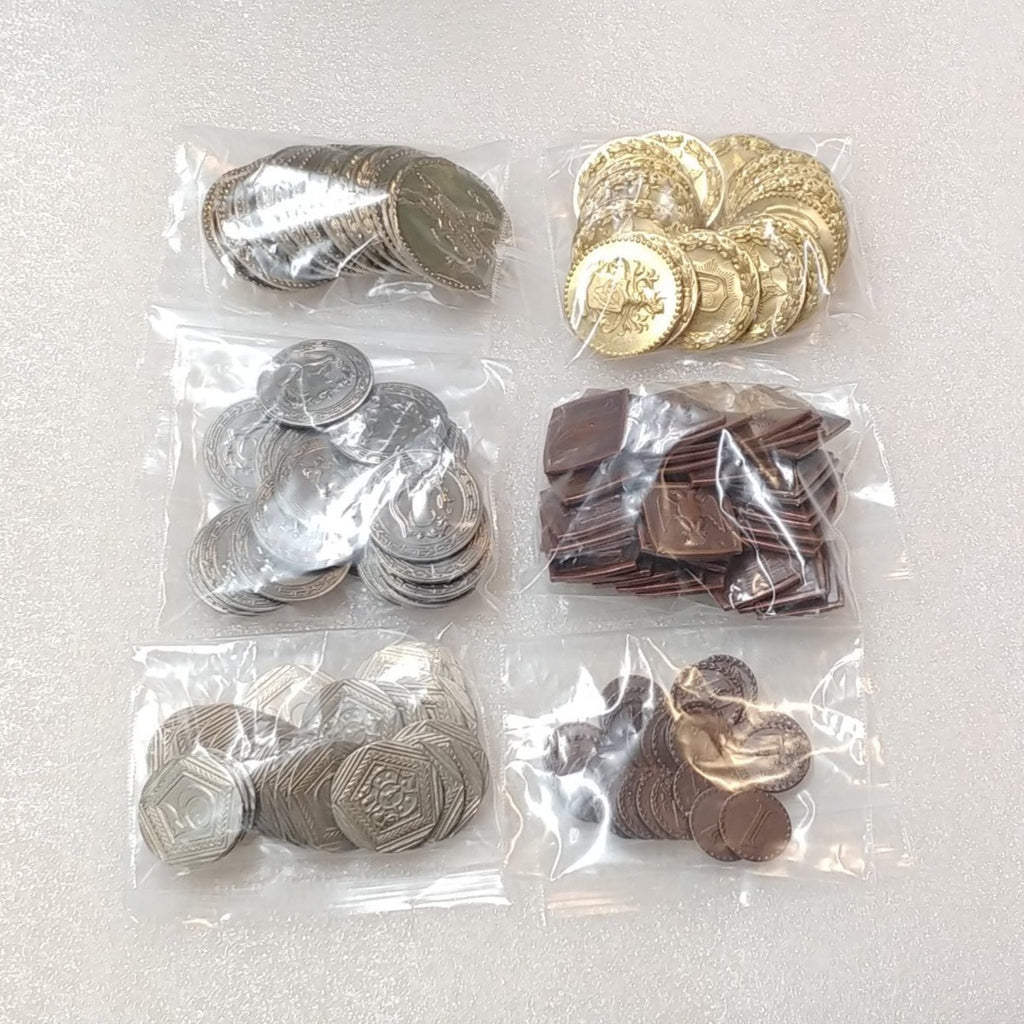 Gaming Coin Pack - 127+ Coins in 6 Denominations