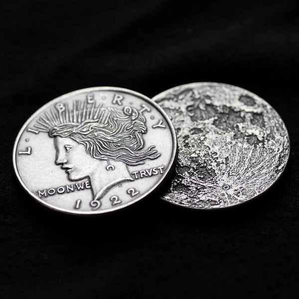 American Gods Moon Coin - Shadow's Liberty Head Coin - Official Neil Gaiman Gifts - Shire Post Mint
