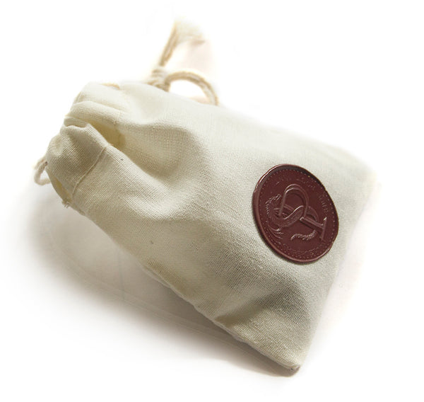Cloth Coin Bag with Wax Seal