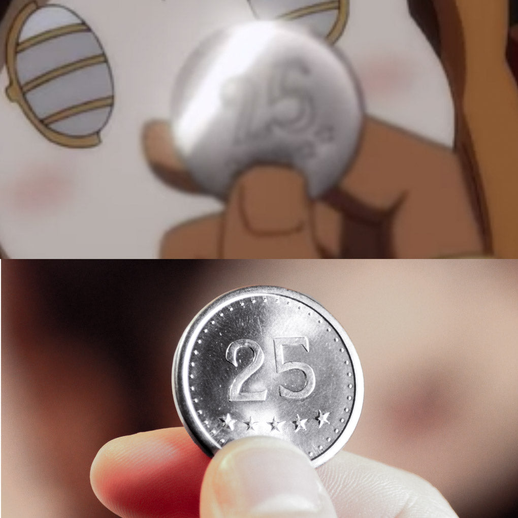 Cannon Busters Coin - Bessie's Raging Bull Quarter