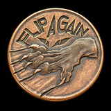 Pet the Cat / Flip Again Copper Decision Maker Coin