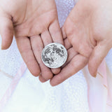 Silver Supermoon 1 oz Coin - Large 1.5""