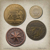 House Baratheon Set of Four Coins