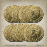 Bulk Stannis Baratheon Half-Dragons Gaming Coins