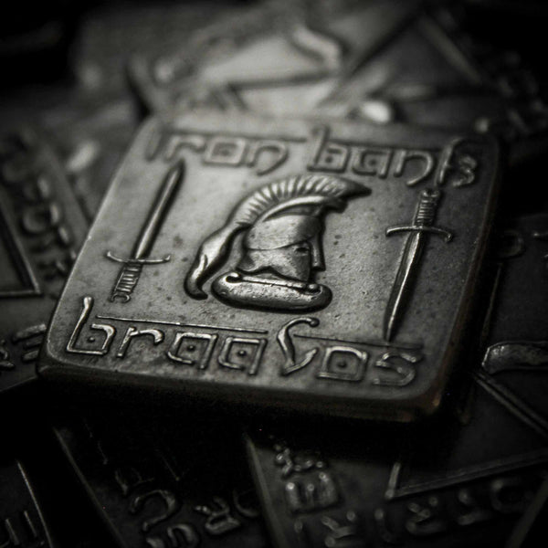 Braavosi Iron Square - Valar Morghulis - Official Coin of Essos by Shire Post Mint