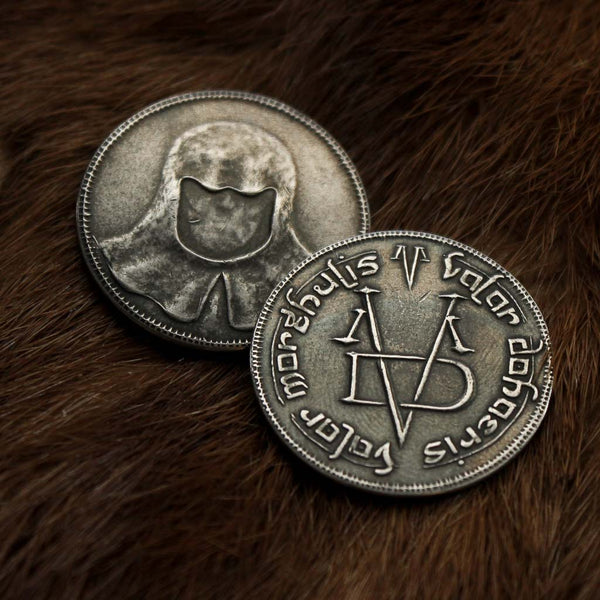 1//4 Troy oz New Game of Thrones Pure Silver Faceless Man Coin
