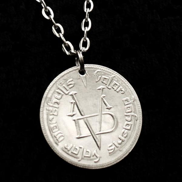 Silver Valar Morghulis Necklace