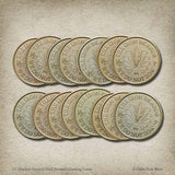 15 Quellon Greyjoy Half-Pennies Gaming Coins
