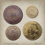 House Greyjoy Set of Four Coins