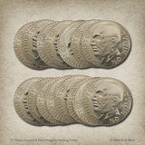 Bulk Tywin Lannister Half-Dragons Gaming Coins