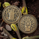 Garth VII Gardener Goldenhand Coin | ASOIAF Game of Thrones Merchandise Gifts from Shire Post Mint