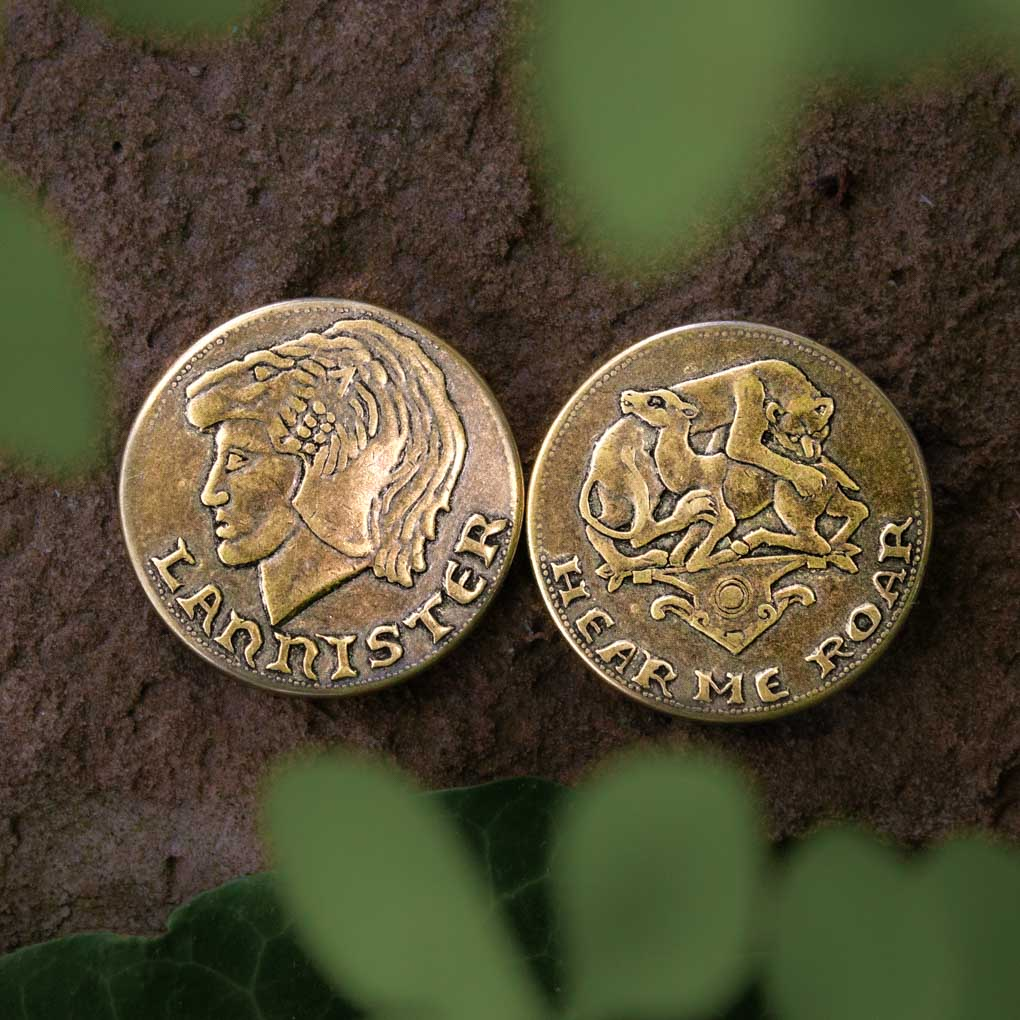 Loreon Lannister Golden Lion Coin