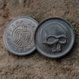 Black Skull of Crom Coin