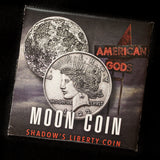 American Gods Moon Coin - Shadow's Liberty Head Coin