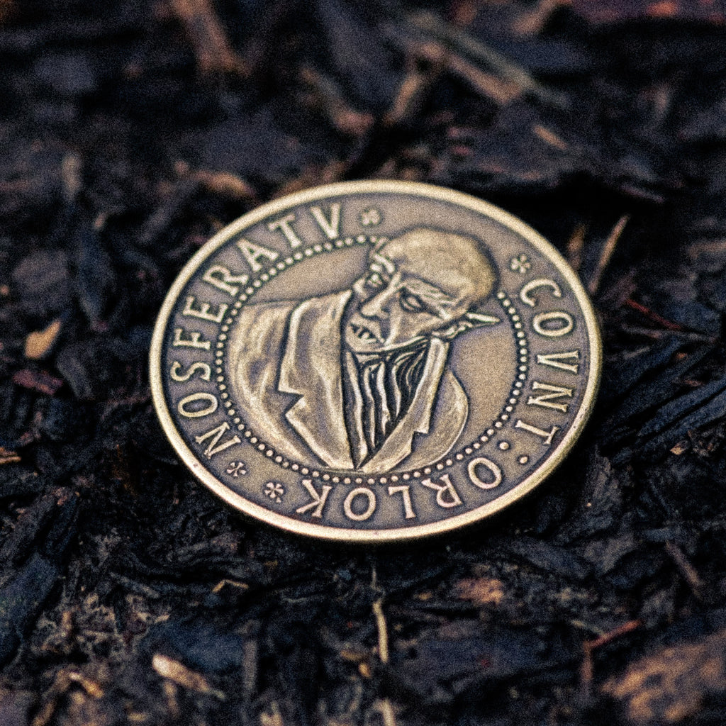 Nosferatu Count Orlok Brass Coin