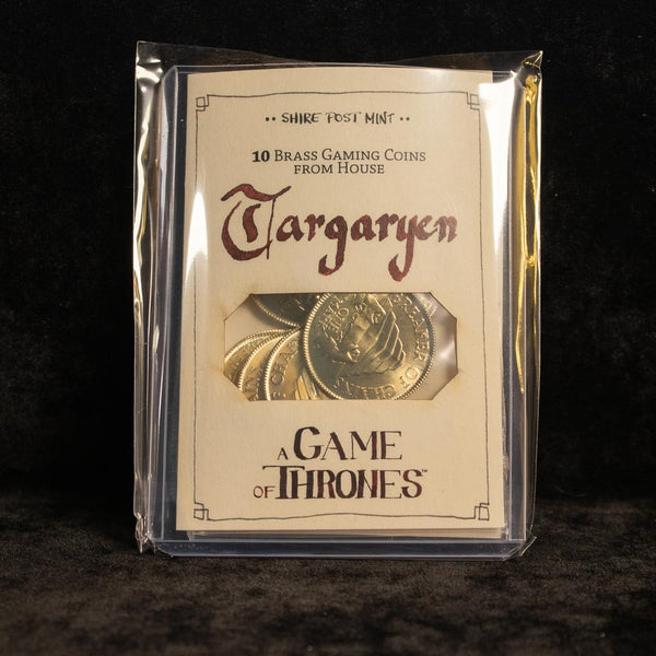 Bulk Daenerys Targaryen Marks of Meereen Gaming Coins - Set of 10 Coins