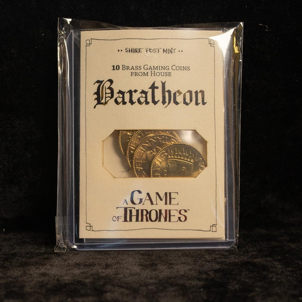 Bulk Stannis Baratheon Half-Dragons Gaming Coins - 10 Coins