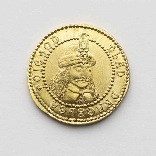 Vlad Dracula Brass Coin