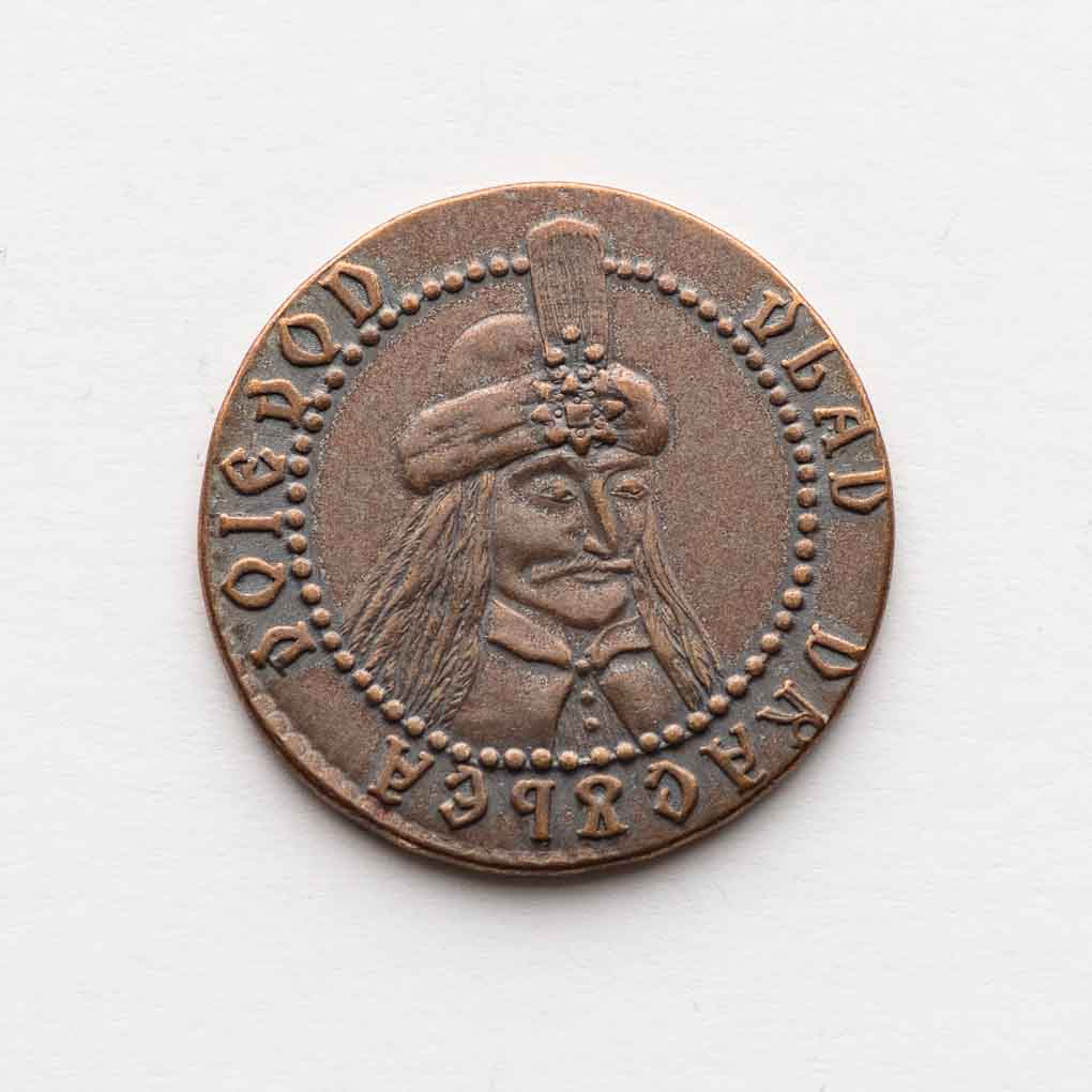 Vlad Dracula Copper Coin