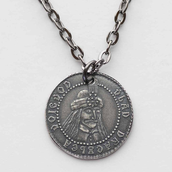Vlad Dracula Silver Necklace