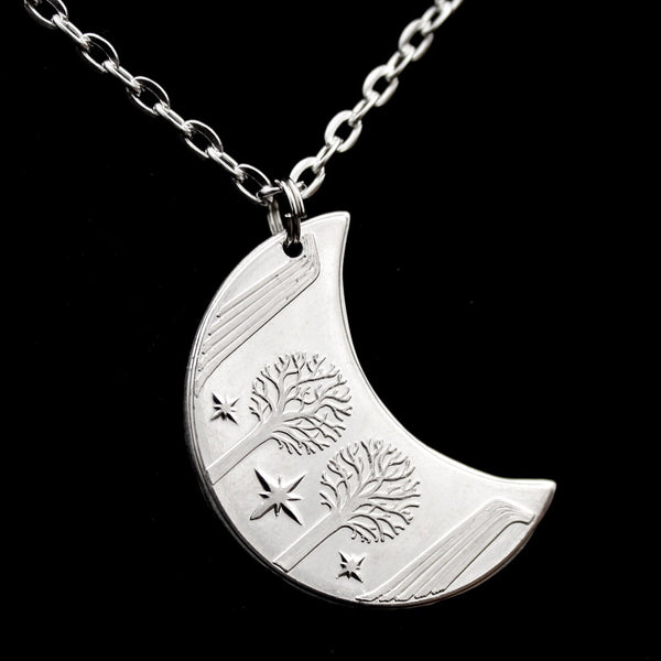 Rivendell™ Silver Moon Necklace
