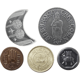 The Lord of the Rings™ Set #2 - Middle-earth Set of Five Coins