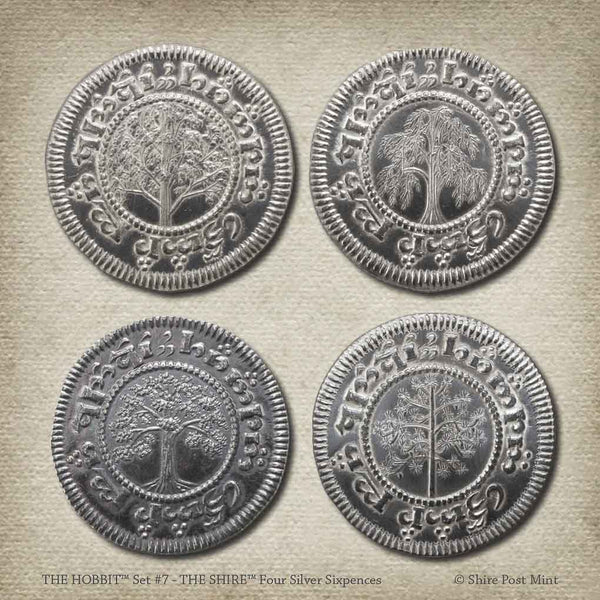 The Hobbit™ Set #7 - The Shire Four Silver Sixpences