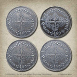The Hobbit™ Set #9 - The Shire Four Silver Two Shillings