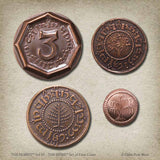 The Hobbit™ Set #1 - The Shire™ Set of Four Coins