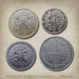 The Hobbit™ Set #2 - The Shire™ Deluxe Set of Four Coins