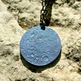 Blue Moon Necklace - Niobium