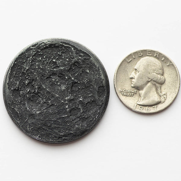 Iron Super New Moon Coin - Large 1.5""